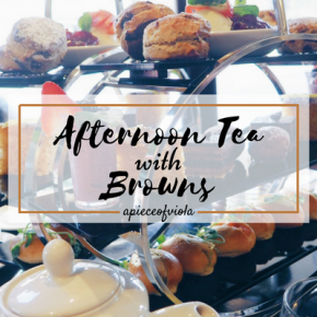 Afternoon Tea with Browns