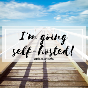 I'm Going Self-Hosted!